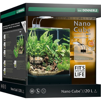 dennerle Nano Cube Complete + 20 L Power led