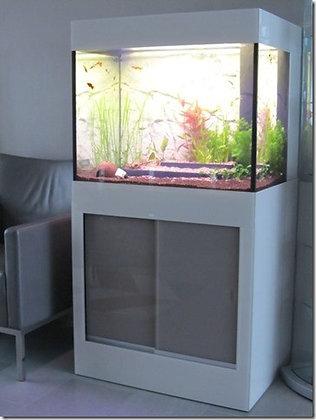 Aquarium met meubel