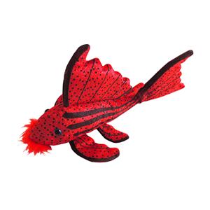 Crimson Pleco Knuffel