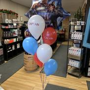 Captain America Balloons