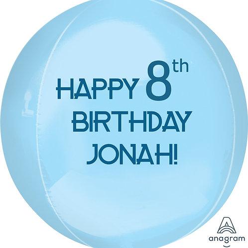 Personalized Jumbo Orbz Balloon