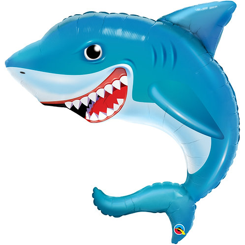 """Smilin' Shark"" Jumbo Helium Filled"