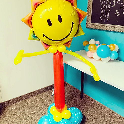 Have a Sunny Day! 5 Foot Tall Custom Design