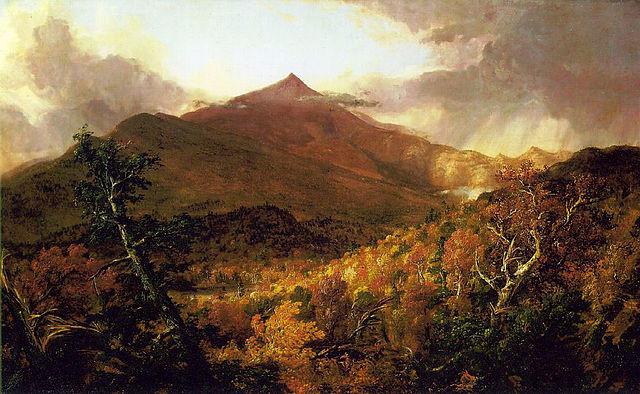 Schroon Mountain, Adirondacks by Thomas Cole