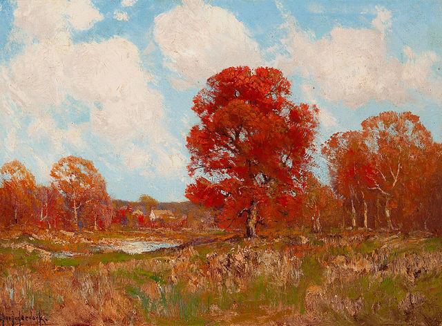 Fall Landscape by Julian Onderdonk