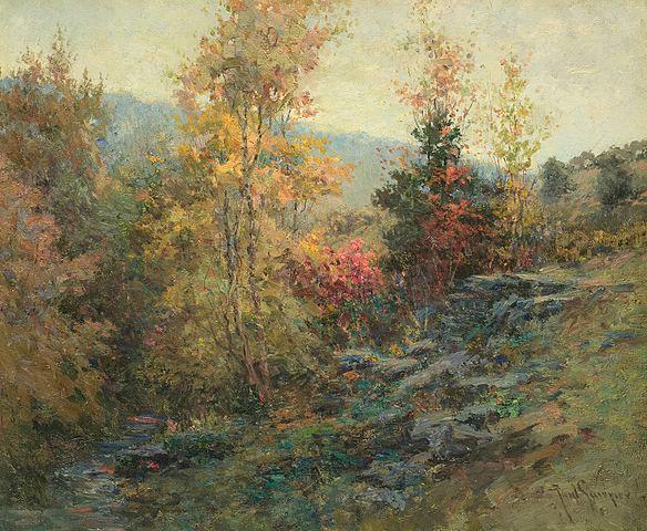 Untitled Landscape by Paul Sawyier