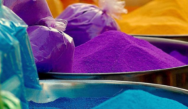 Color Powder Bins