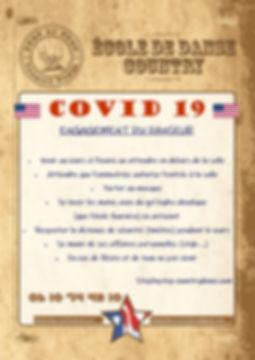 Engagement du danseur - Covid 19