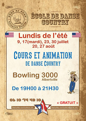 danse country albertville - pascale boudinet