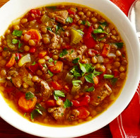 Quick & Easy Hearty Lentil Soup