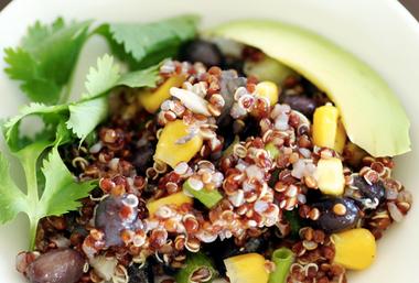 Black Bean and Quinoa Salad