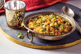 Spicy Red Lentil Stew
