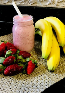 Protein – Packed Strawberry Banana Smoothie