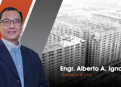 Vision Properties Development Corporation appointed industry veteran, Engr. Alberto A. Ignacio, Jr.,