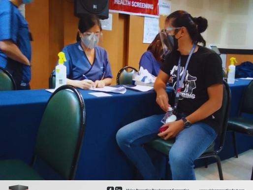Kabalikat sa Kaligtasan: 2nd Batch of VPDC Employees Get Vaccinated Through QC-Protektodo
