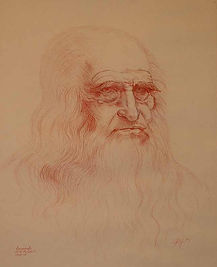 Leonardo DaVinci Self Portrait