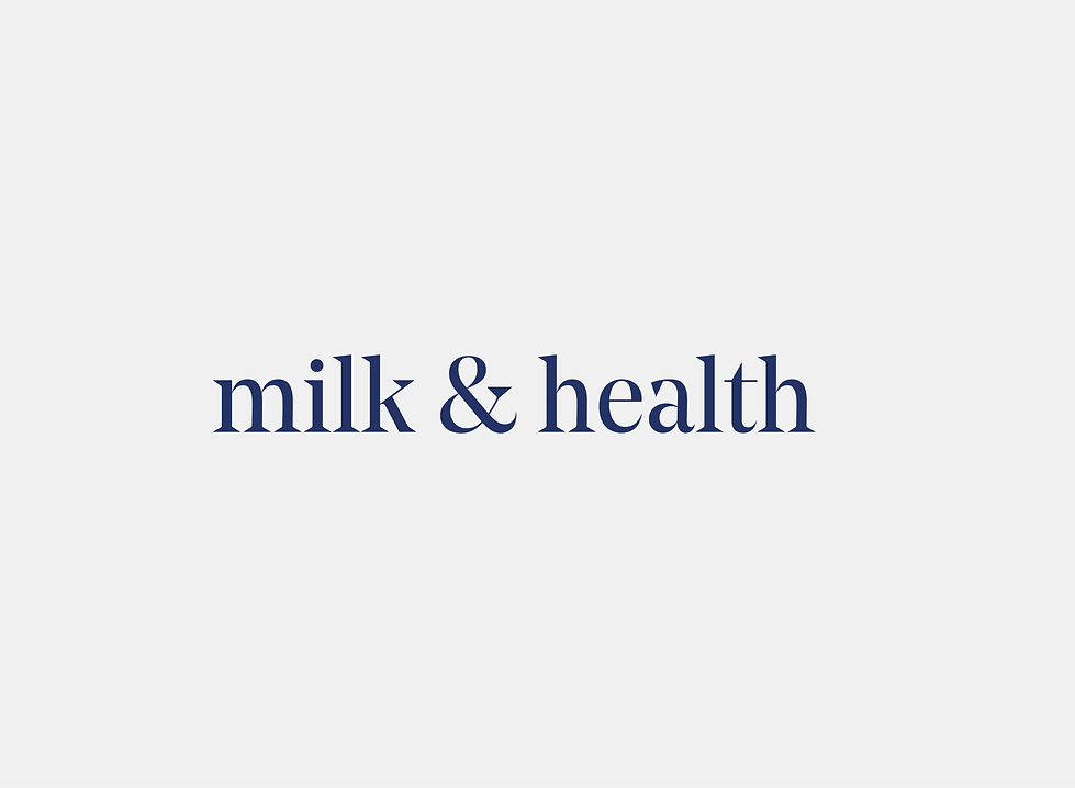 MILK & HEALTH by THE GREEN HOUSE