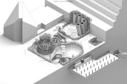 Citigroup Center Entrances Plan