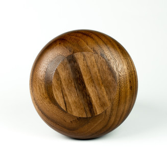 product design, walnut wood, vessels