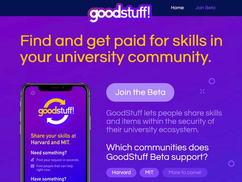 GoodStuff Web Presence