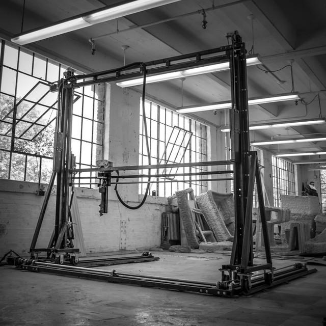 concrete 3d printing, machine design, digital fabrication