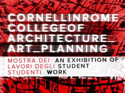 Cornell in Rome Exhibition
