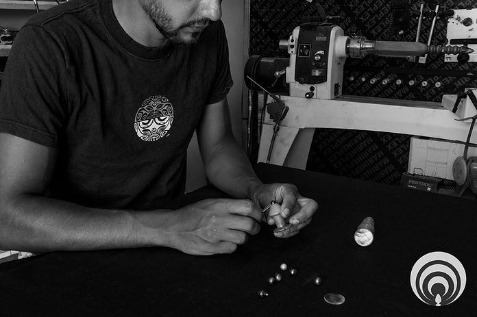 Handmade anal plug jewels