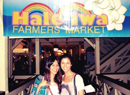 """Haleiwa Farmers Market e seus """"tesouros"""""""