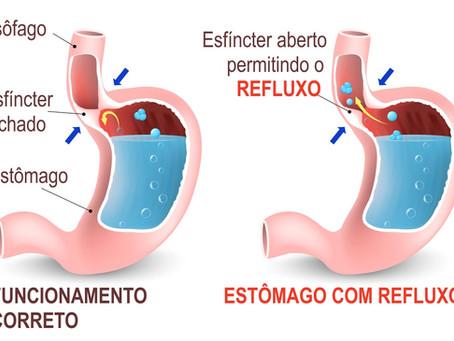Doença do Refluxo.