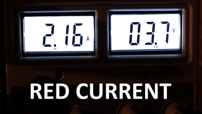 RED CURRENT READINGS