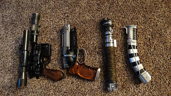 GUNS AND SABERS