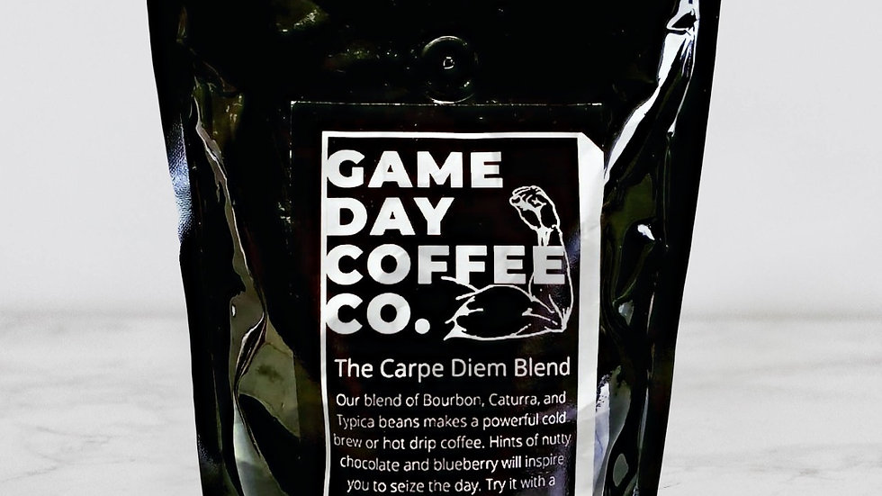 The Carpe Diem Blend Whole Bean Coffee