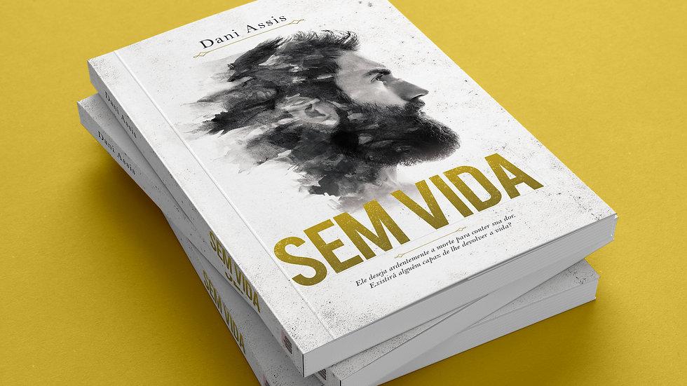 Sem Vida Livro+Marcador+Postal+Autografado