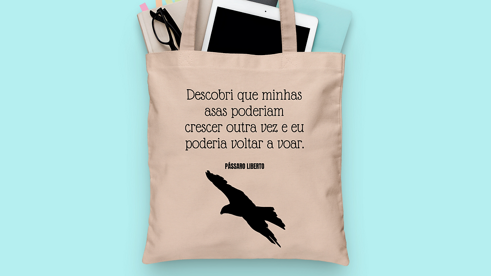 Ecobag Pássaro Liberto
