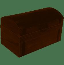 Large Wooden Cardbox