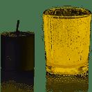 Gold Mercury Tealight