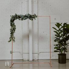 Copper Rod Arch - 8ft Tall