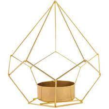 Gold Geometric Holder