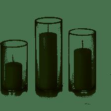 Set of 3 Pillars
