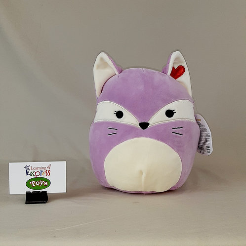 "16"" Valentine Purple Fox"