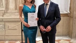 Happy to win Tullio Serafin opera singing competition!