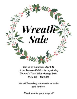 Sprouting Totowa Wreath Sale