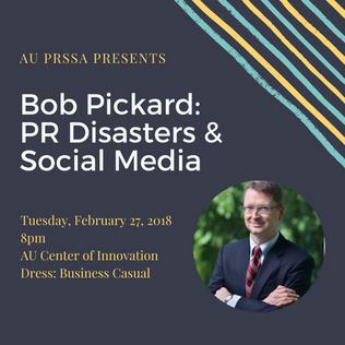 Bob Pickard _ PR Disasters & Social Media