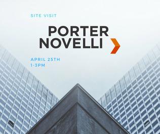Porter Novelli Site Visit Social Graphic
