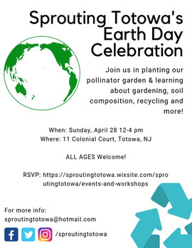 Sprouting Totowa's Earth Day Celebration