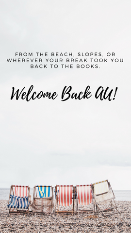 Snapchat Welcome back from spring break