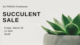 Succulent Fundraiser Graphic for Facebook