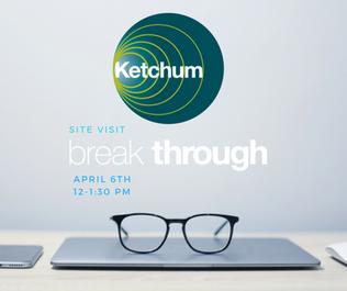 Ketchum Site Visit Social Graphic