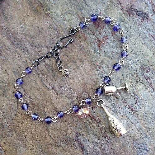 Merlot Bottle Bracelet