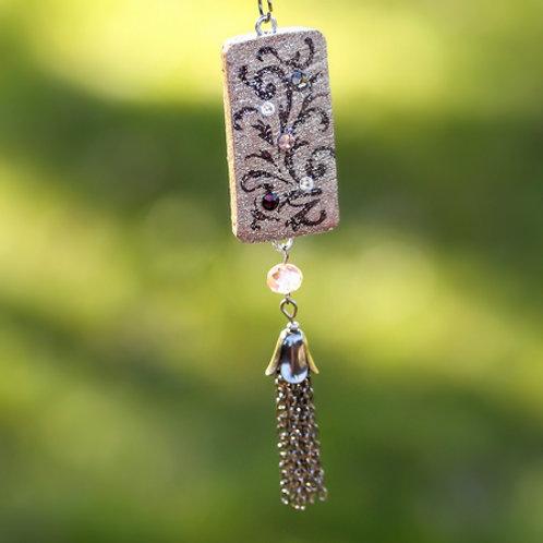 Flourish Tassel Necklace